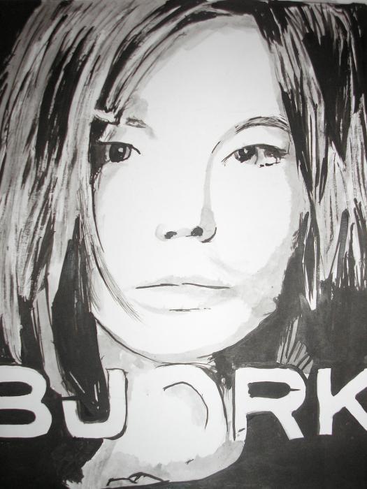 Björk por Coffee58